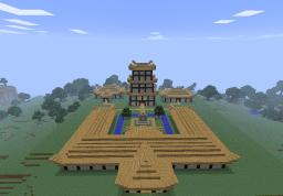 Japanese Estate Minecraft Map & Project