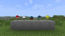Pokéball Spawn Eggs Minecraft Texture Pack