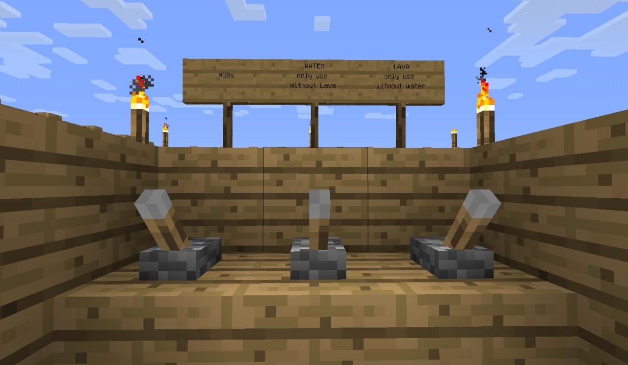 mob farm minecraft project
