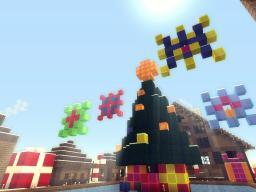 Christmas Village [Fresh Timelapse] HAPPY NEW YEAR! (slowpoke mode: on) Minecraft Map & Project