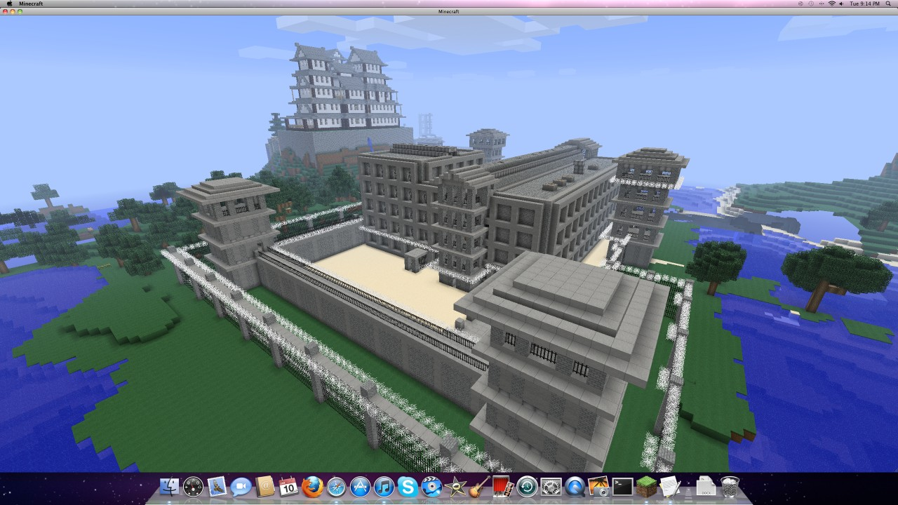 Westbay Prison Minecraft Project