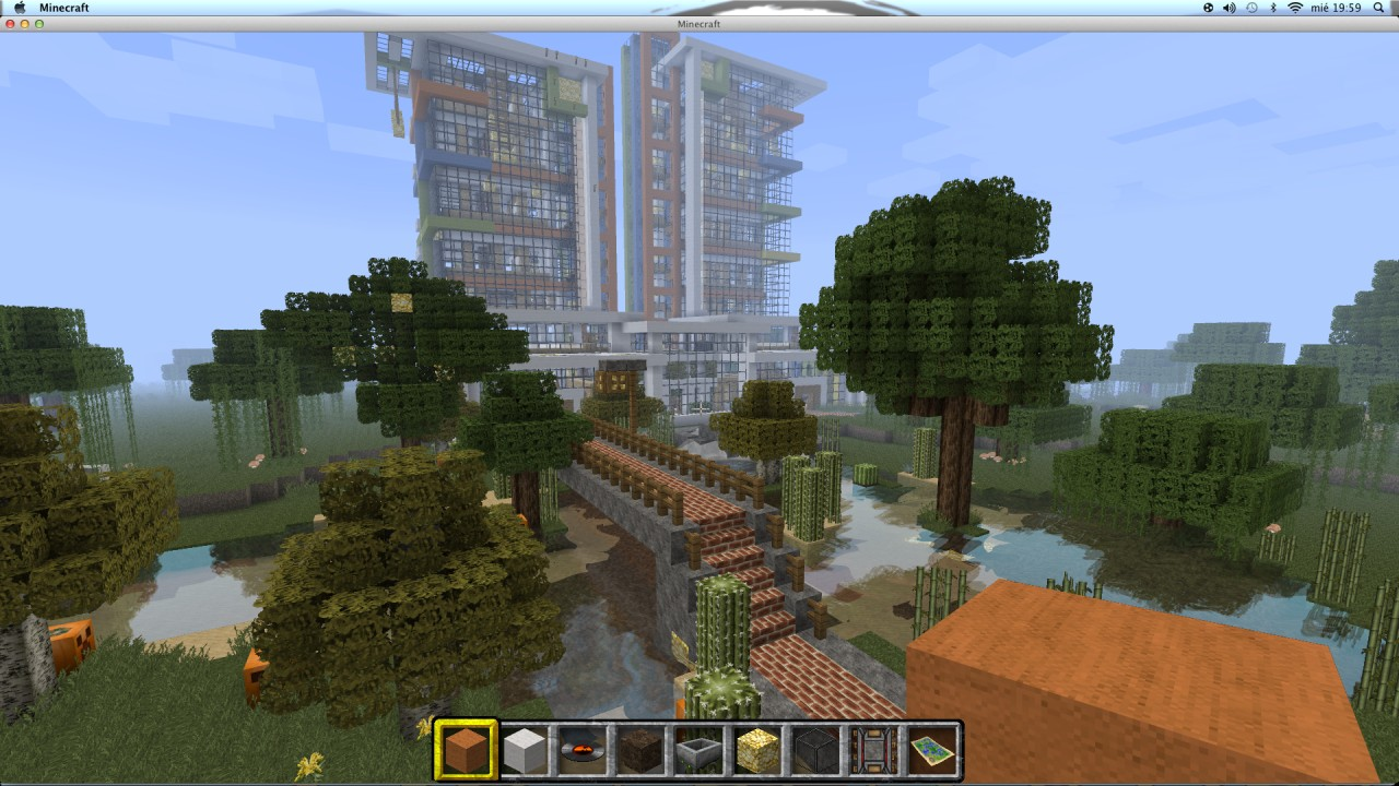 minecraft how to build a modern apartment