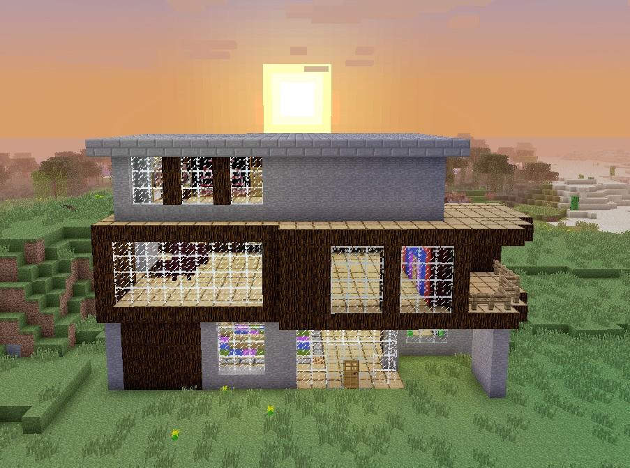 the hoke house a simple modern home minecraft project una casasumisura per loro case da film twilight e