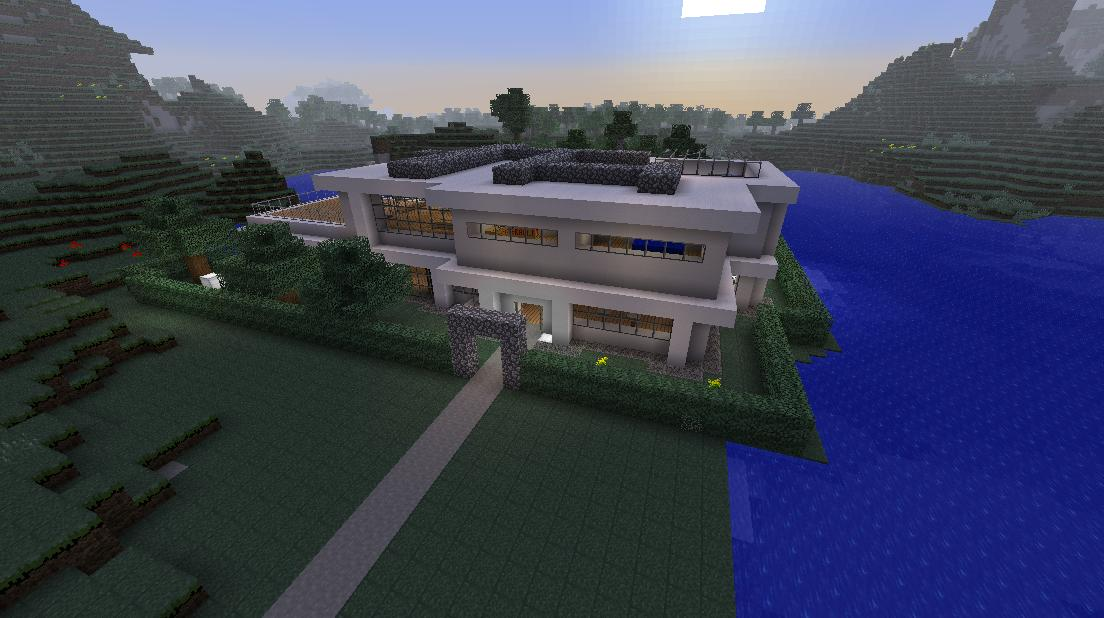Minecraft big house cake ideas and designs for Minecraft big modern house schematic