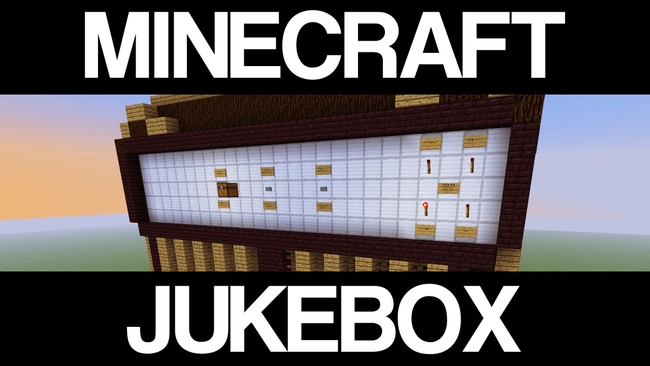 how to make a jukebox work in minecraft