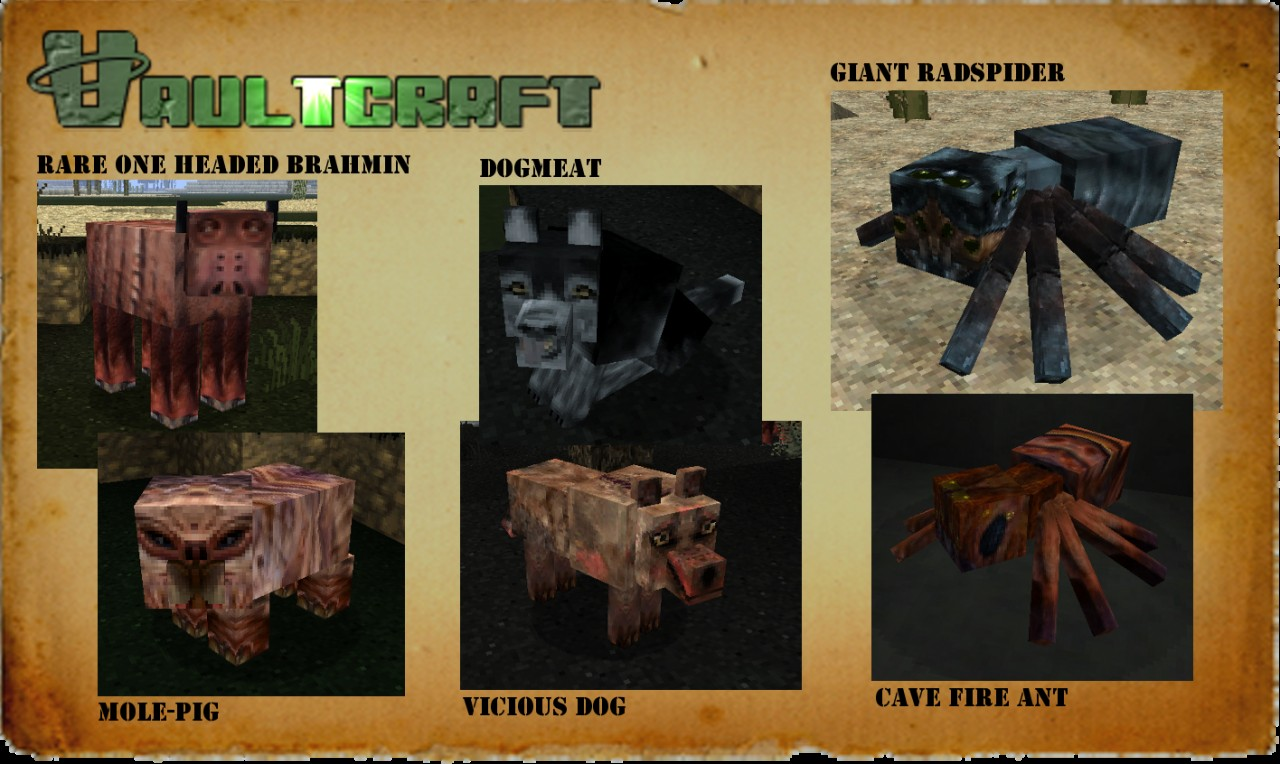Fallout mobs 2