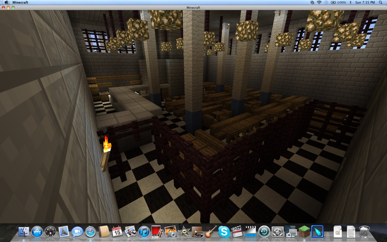 Shawshank Prison Minecraft Project