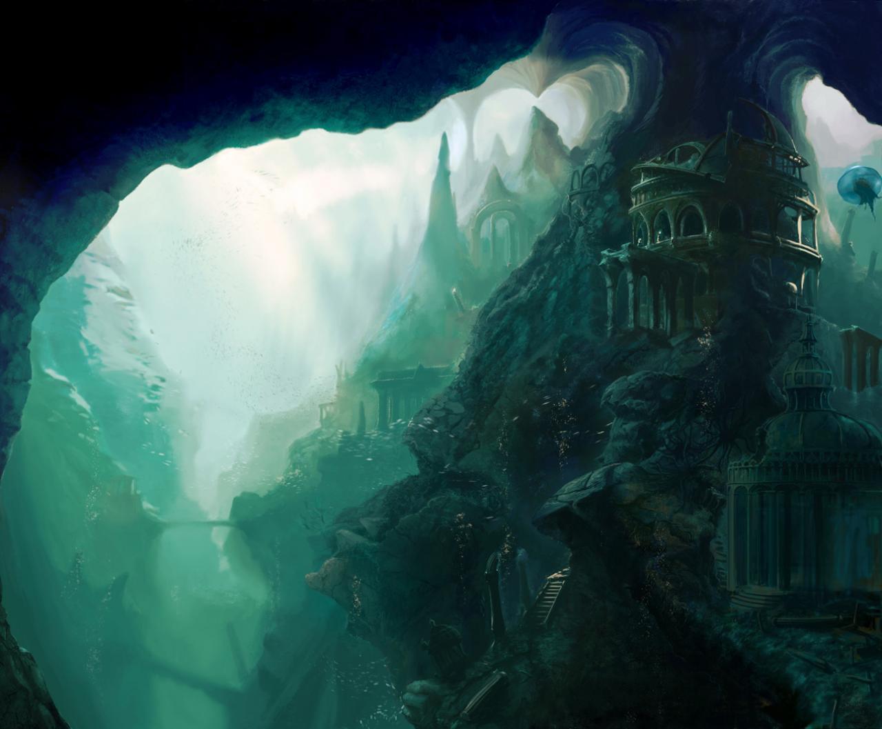 Real Underwater City Underwater city megabuild