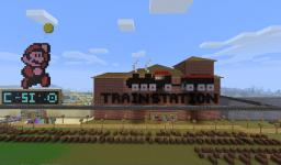 Redstone Train Station Minecraft Map & Project
