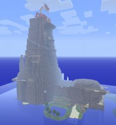 Dragon Roost Island Minecraft Project
