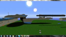 1.1 Scale Excelsior Class Starship Minecraft Map & Project