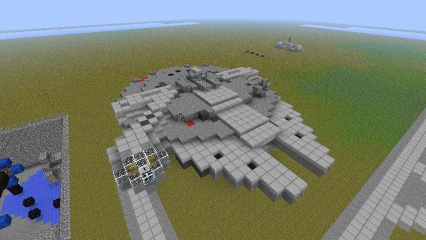 Star Wars Builds Minecraft