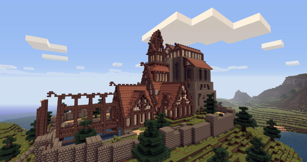 Dragonsreach minecraft project - Construcciones coolbuild ...