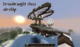 Dreadnought class airship Minecraft Map & Project