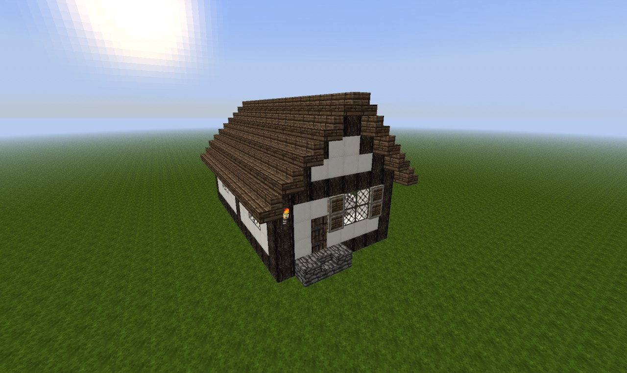 minecraft very small houses the hippest