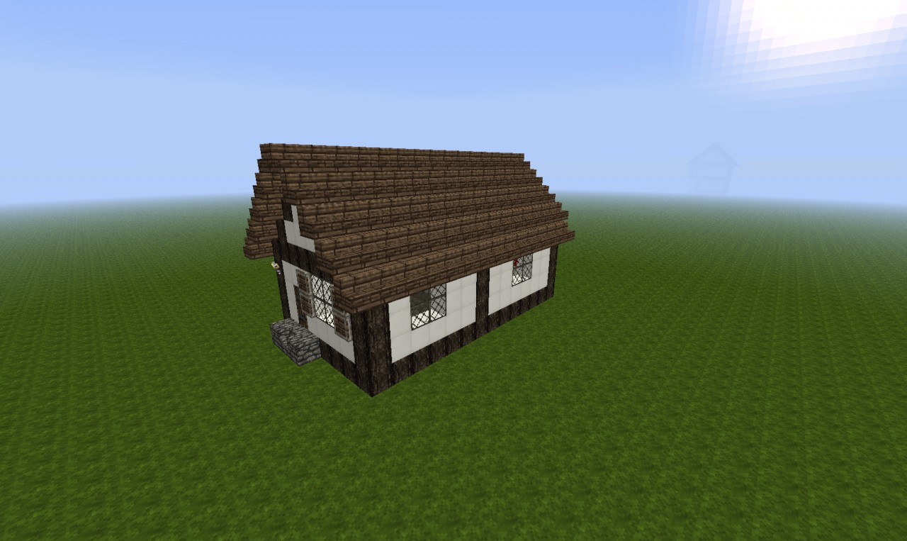 Tiny Medieval House Minecraft Project