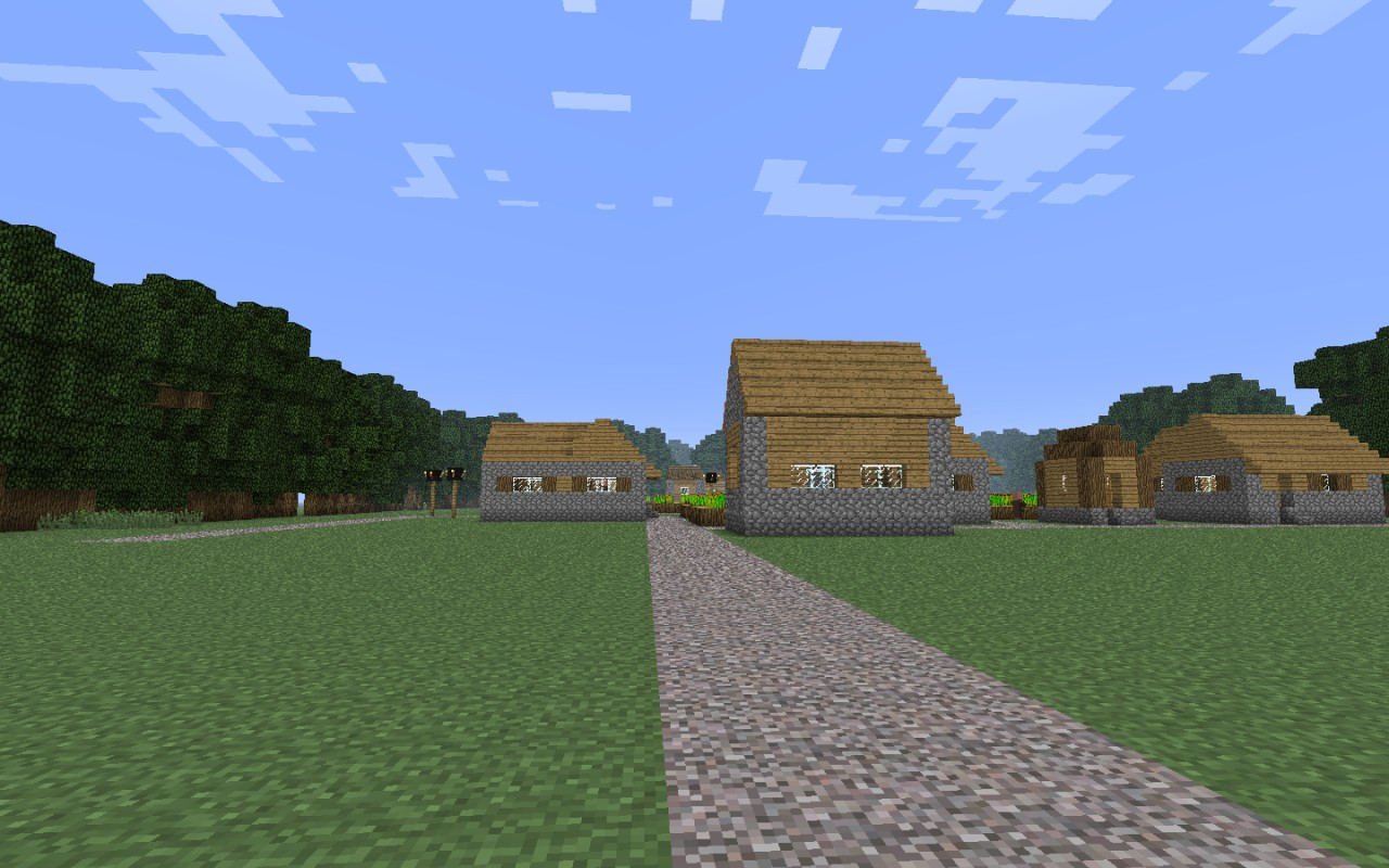 how to easily find npc villages in minecraft