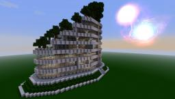 Modern Terraced Apartment Complex Minecraft Map & Project