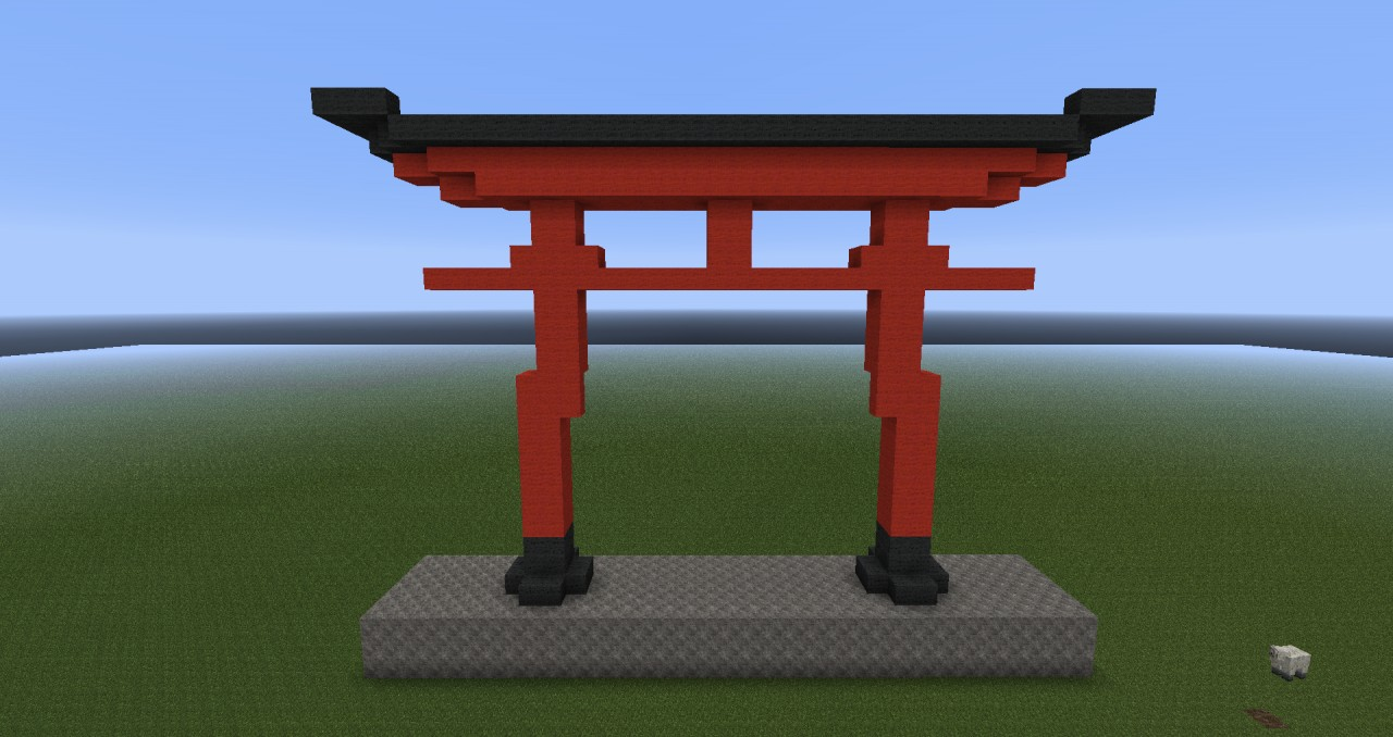 torii minecraft project