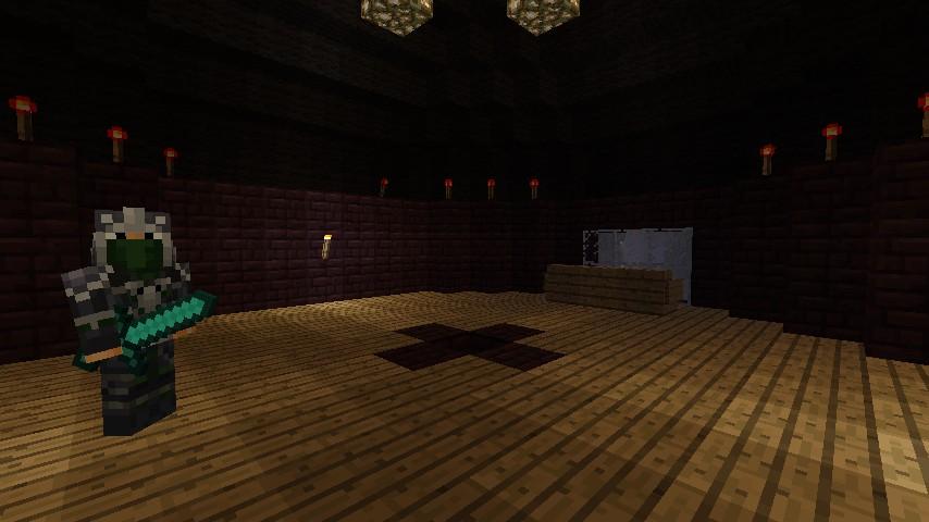 Shadowmoon fortress tdb build minecraft project for Fortress build