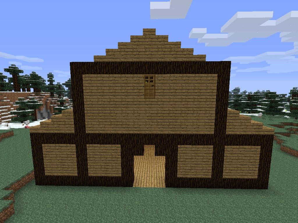 Nice little barn Minecraft Project