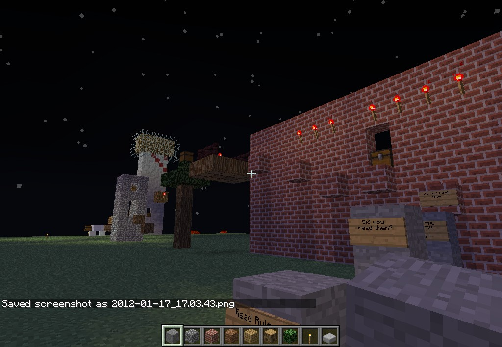 First parkour mapwith seed 3 first parkour map with seed 3 diamonds