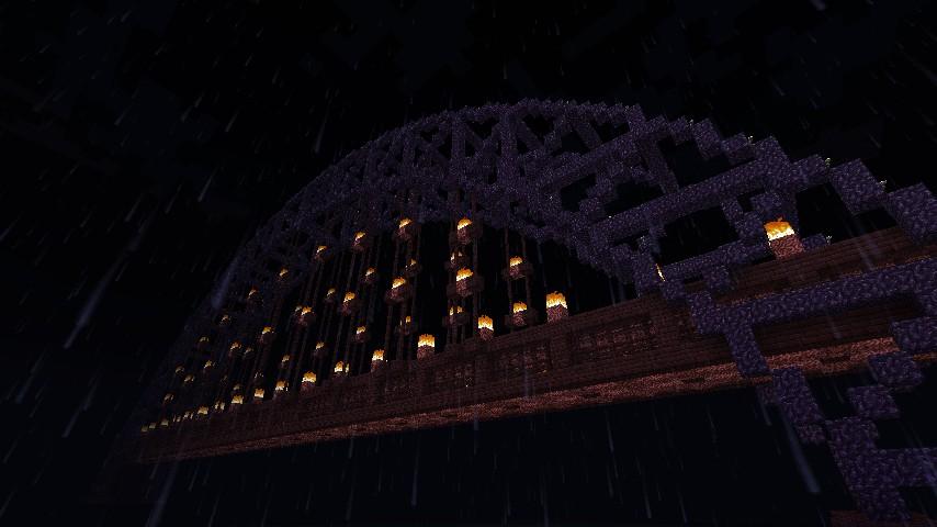 Hell S Arch Bridge Minecraft Project