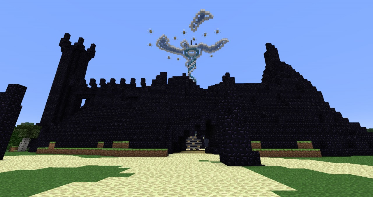 minecraft how to build a fortress