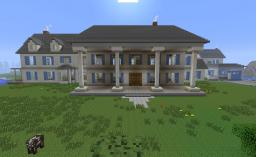 Seven PostWhite Mansion Minecraft Map & Project
