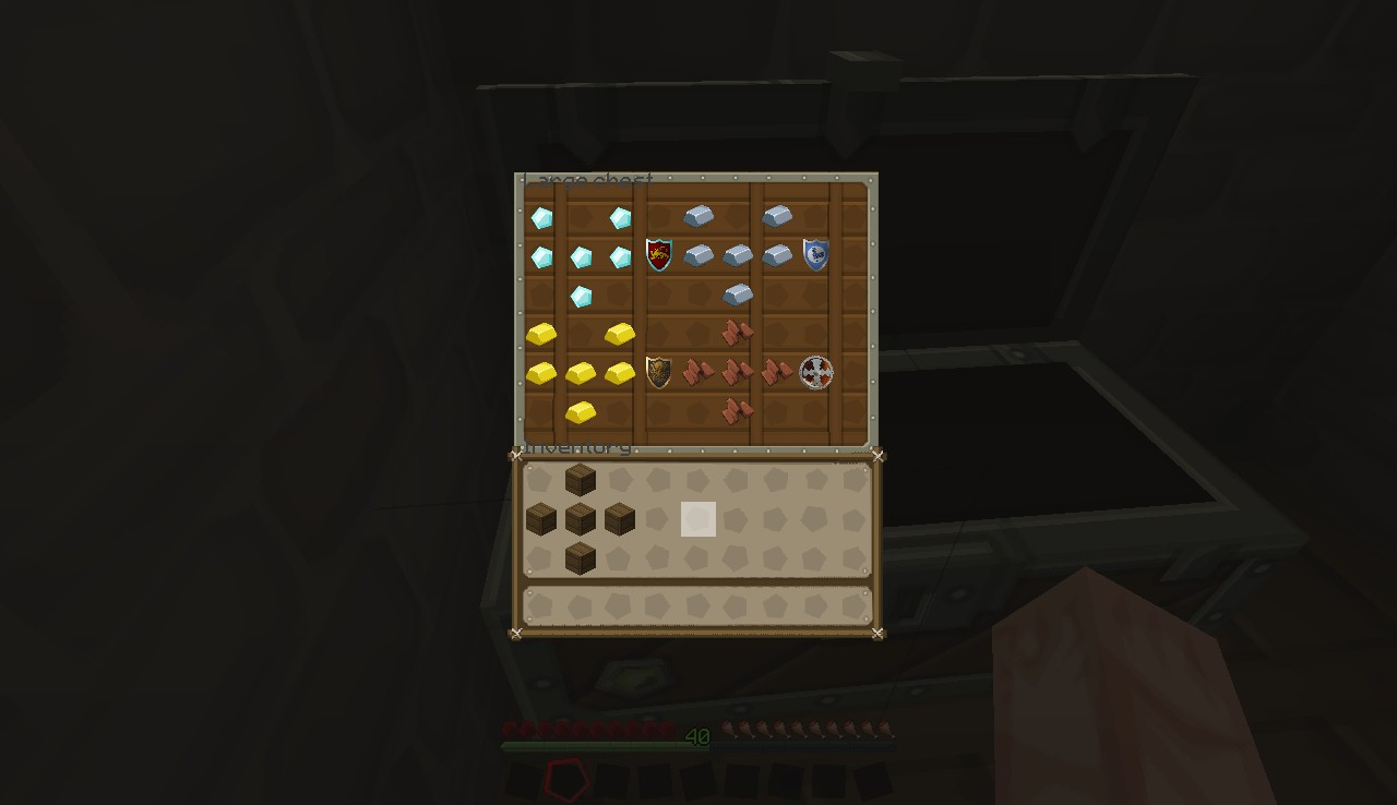 All the crafting recipes