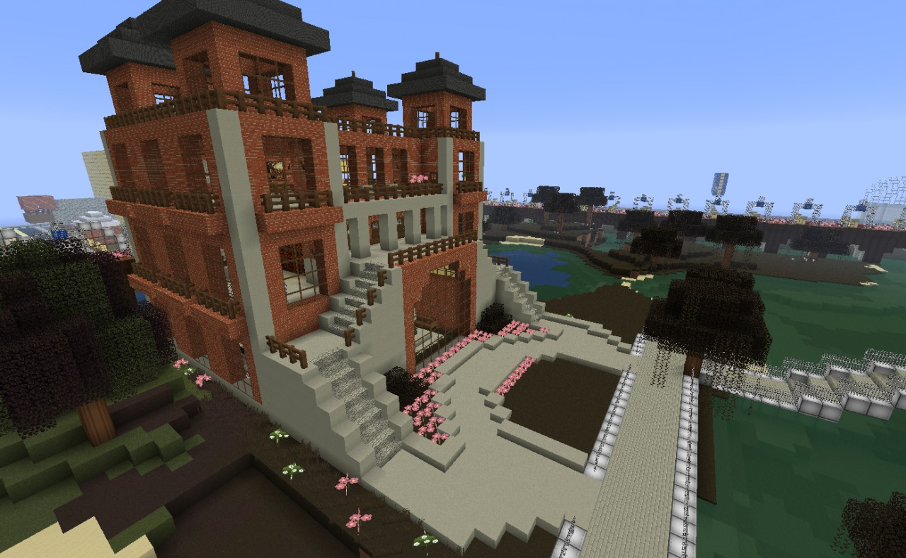 Luxury estates villa bacardi minecraft project - Minecraft villa ...