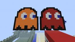 Pac-Man Ghosts Minecraft