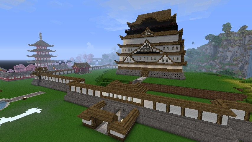 imperial city japanese project canceled minecraft project. Black Bedroom Furniture Sets. Home Design Ideas