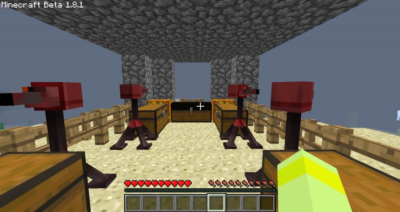 minecraft 1.8 guns