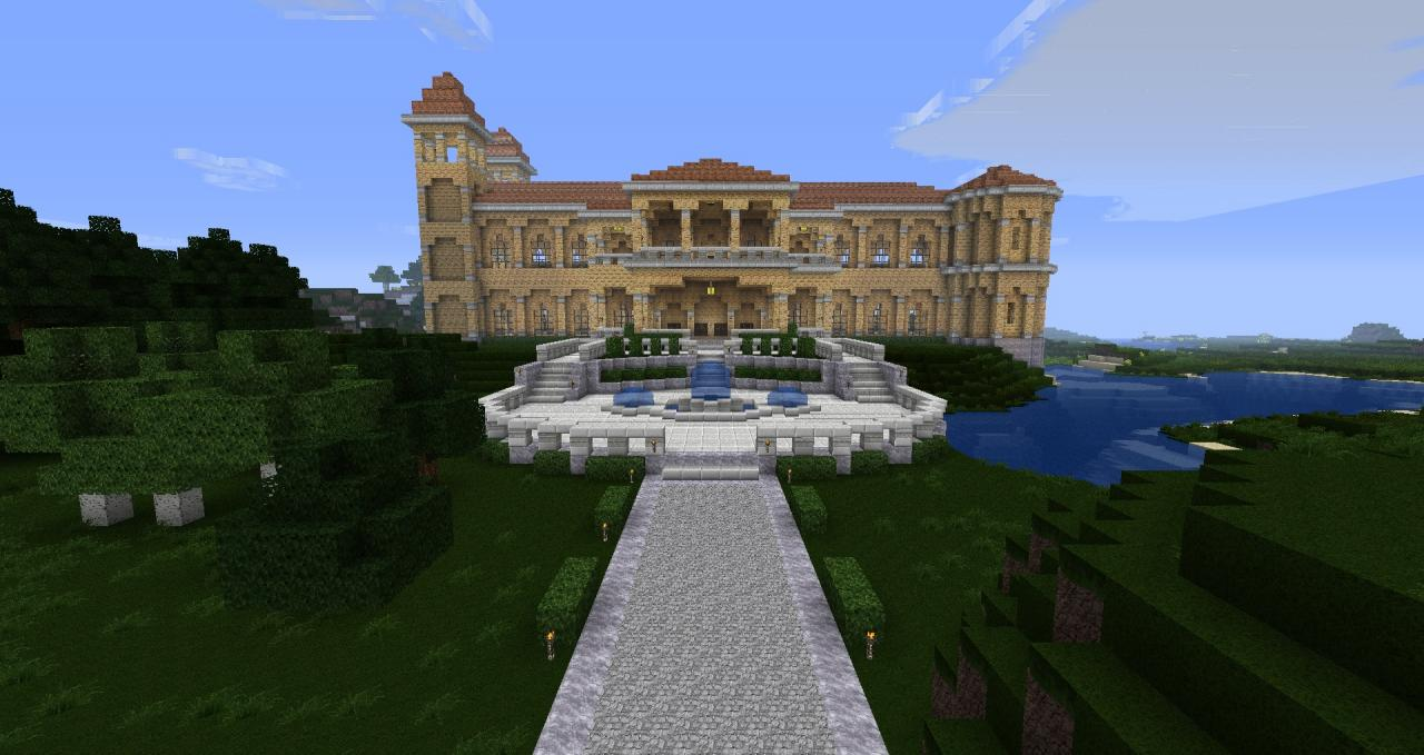 italian villa minecraft project