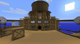 Floating base / City Minecraft