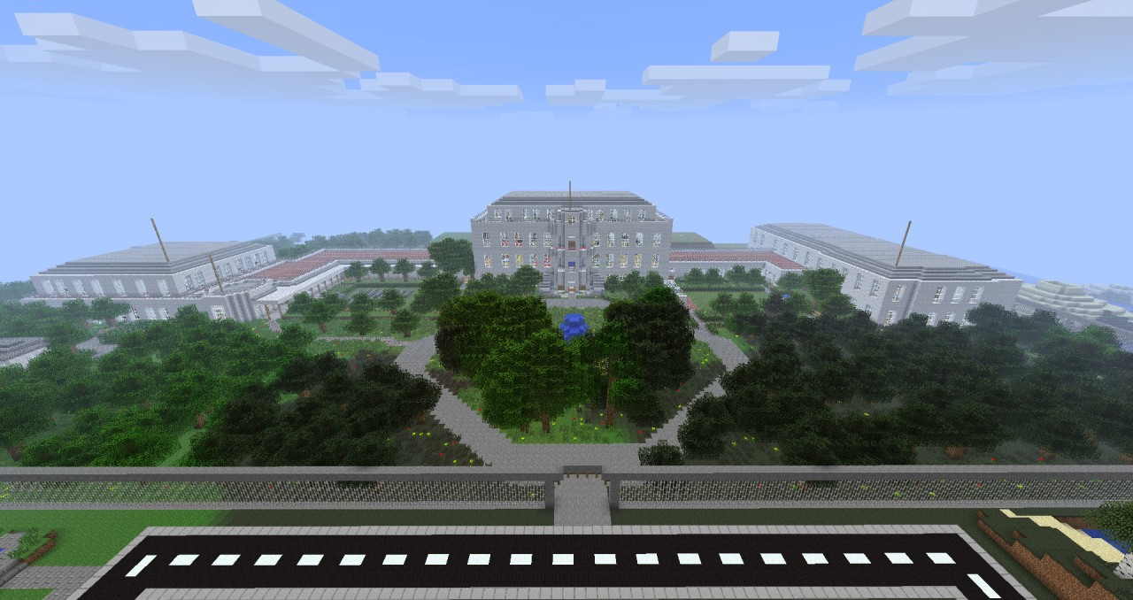 The White House Minecraft Project