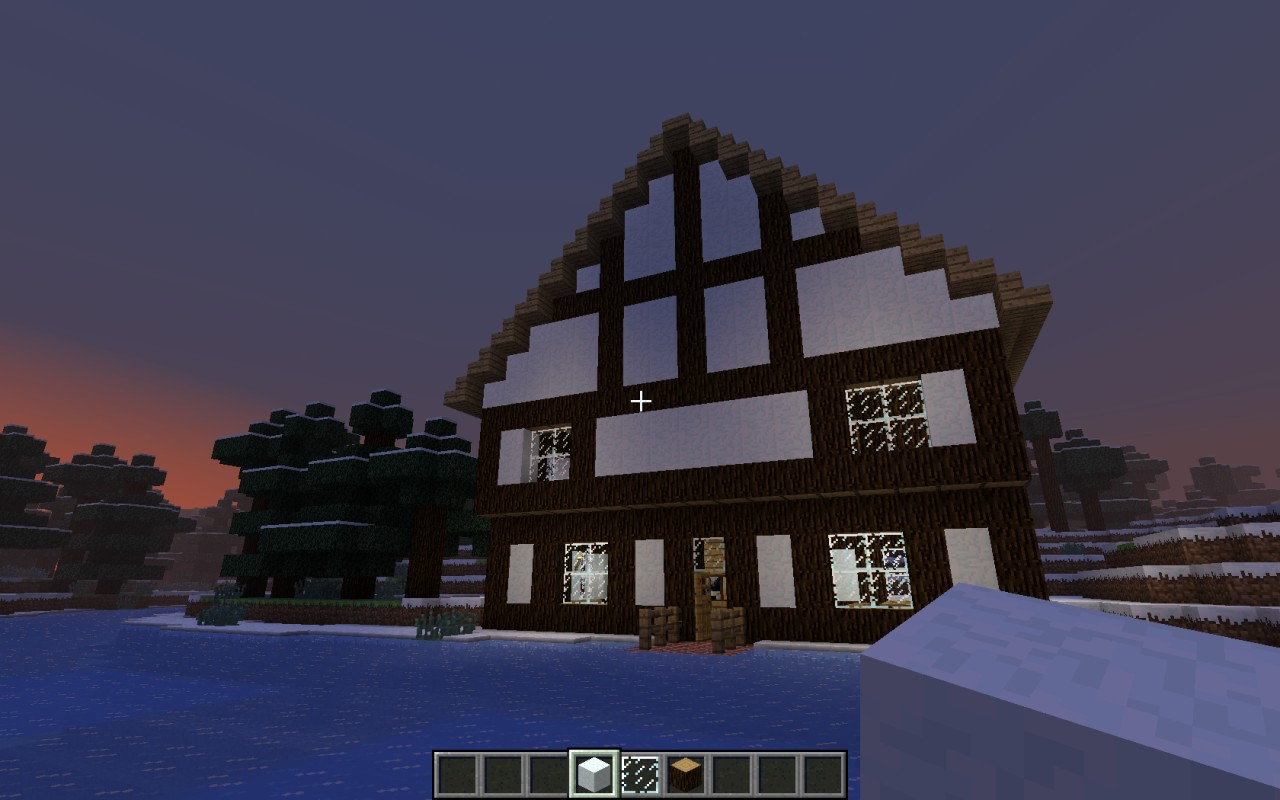 German house minecraft project for Project house