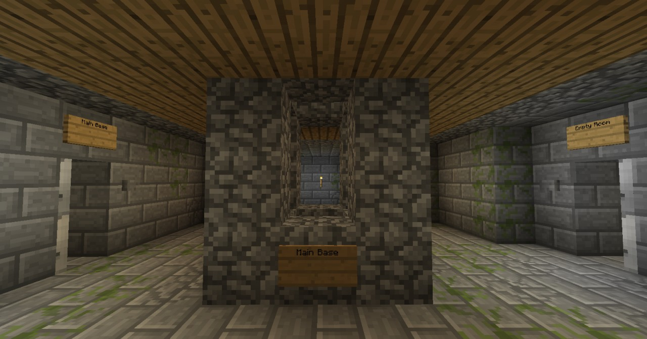 Stronghold Restored Minecraft Project
