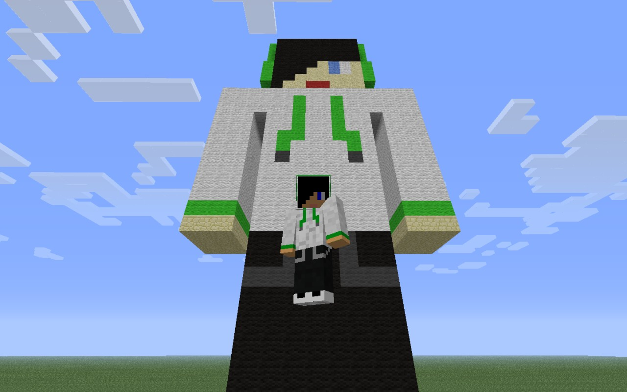 Headphones Kid 3d Pixel Art Minecraft Project