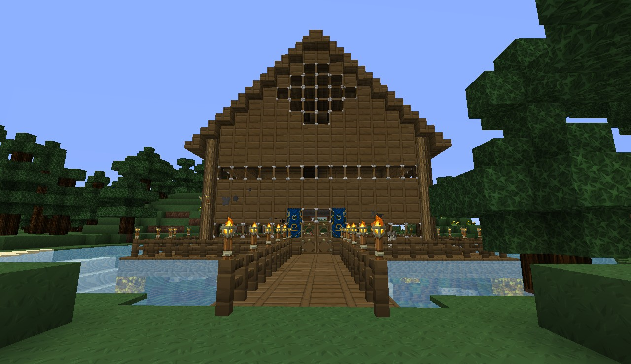 Lake House Minecraft Project