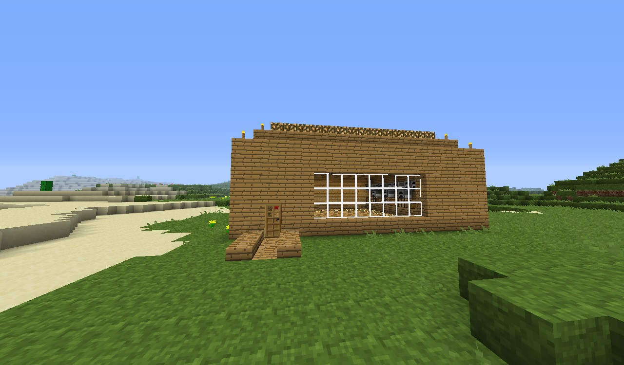 Good basic house in good map minecraft project Good house map