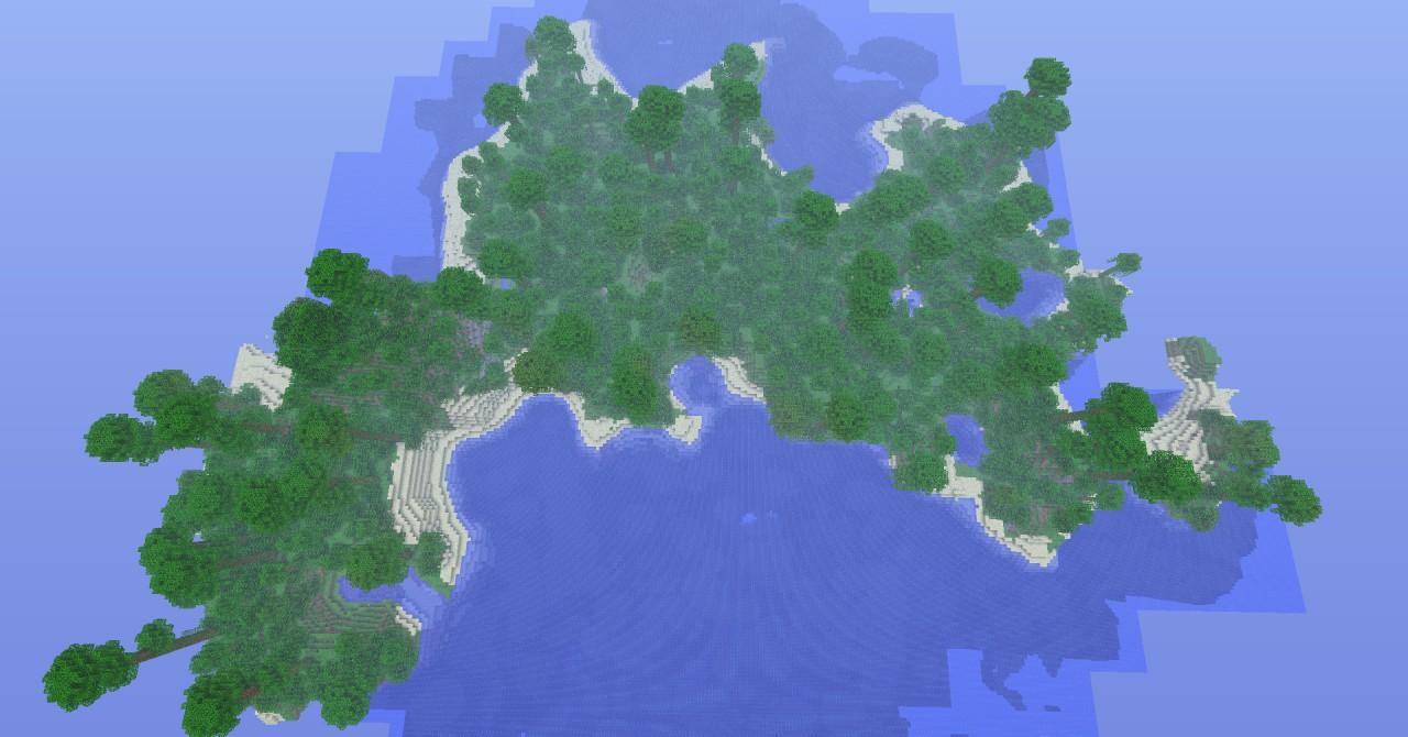 Minecraft Seeds   Islands