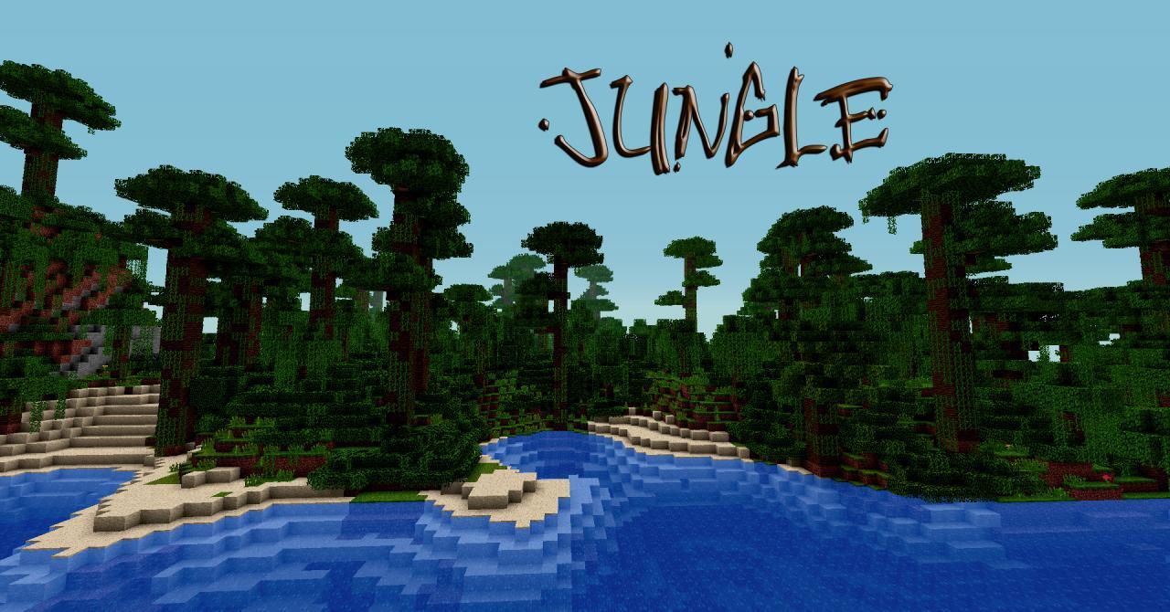Jungle seed - Island Minecraft Project