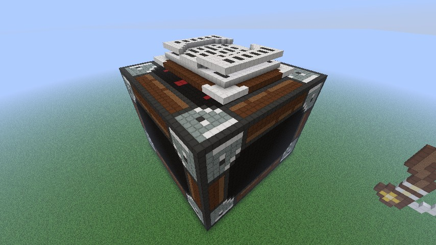 Gallery how to craft enchantment table for Minecraft coffee table