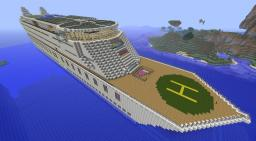 SS Viaggio Cruise Ship BlazeMC Minecraft Map & Project