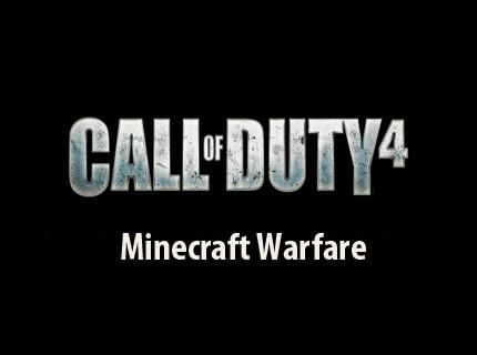 Call of Duty 4: Minecraft Warfare © Minecraft Project