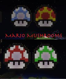 Mario Mushrooms Pack