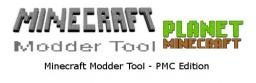 Minecraft Modder Tool - PMC Edition Minecraft