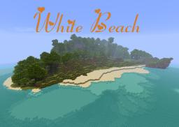 White Beach [Custom Terrain] Now with Two versions! Over 750 downloads! Minecraft Map & Project